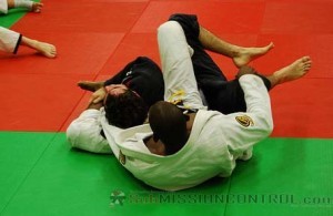 Terere finishing with a choke from the back.