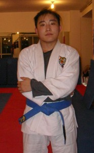 Chinese BJJ Blue Belt Aihui Xu